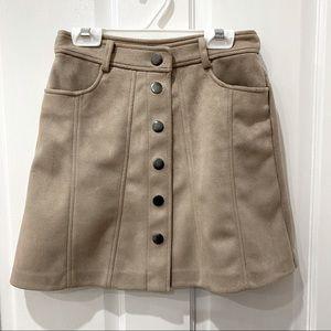 Zara A-Line mini skirt - Size XS